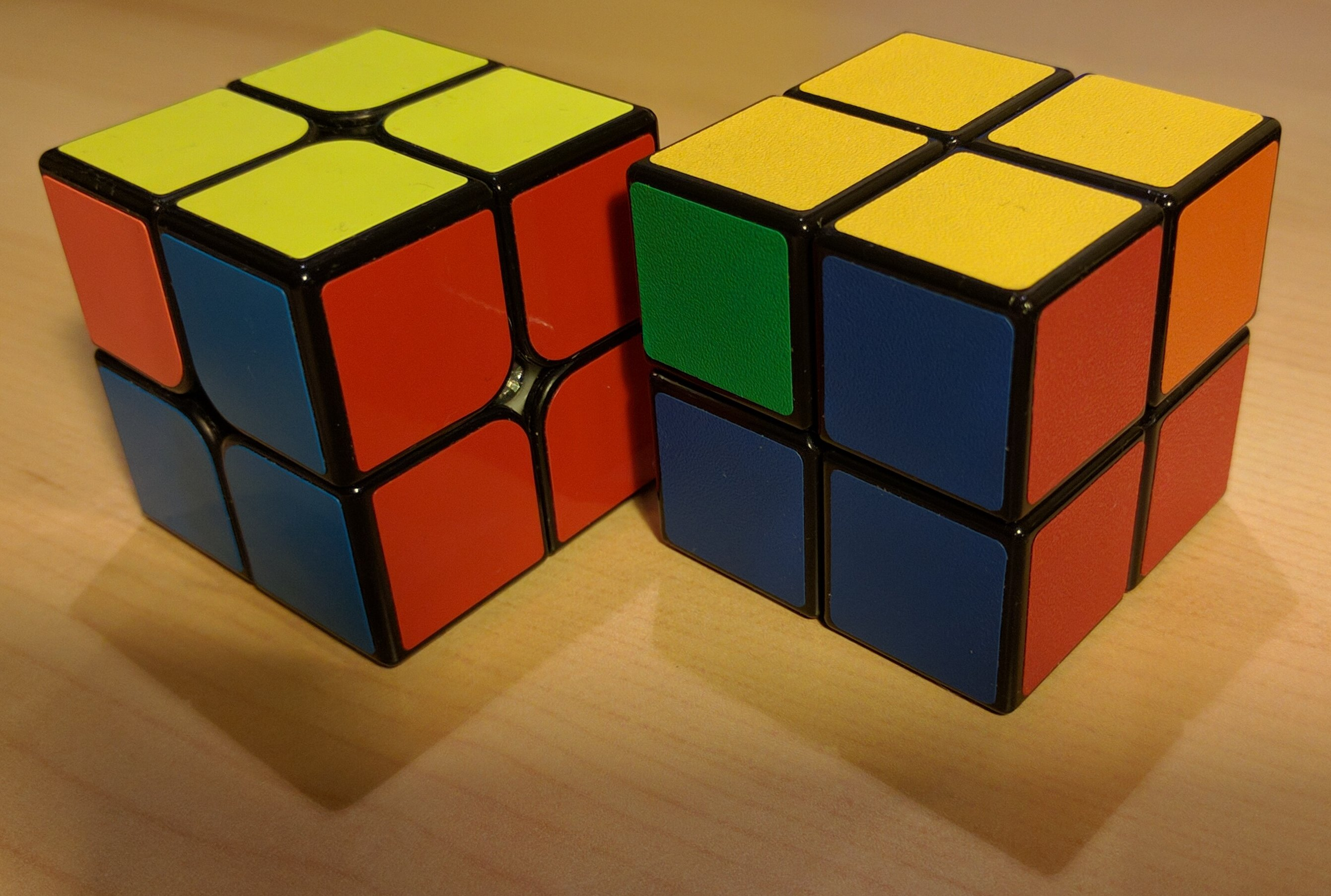 To Solve The Cube In Situation #2 We Need To Find Those Two Adjacent Pieces  On The Side Of The Yellow Layer That Has The Same Color, Rotate The Yellow  U